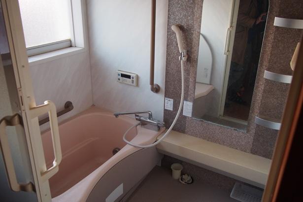 お風呂は綺麗なので現状のまま使います。